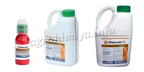 максим пестицид инструкция