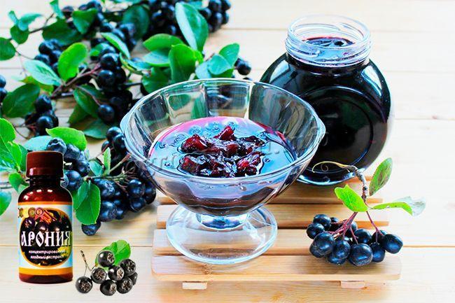арония при сахарном диабете рецепты