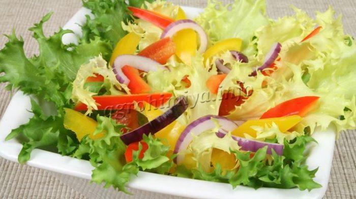 Фото салата с латуком