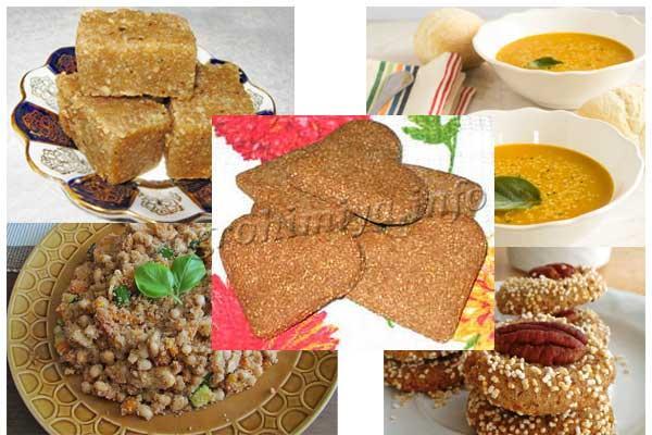 Блюда из амаранта