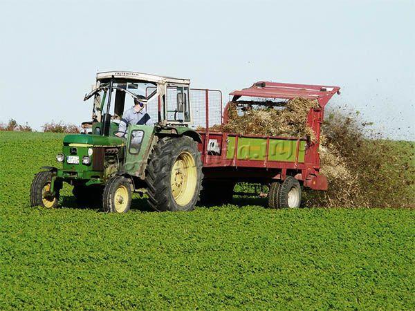 Метод внесения органических удобрений