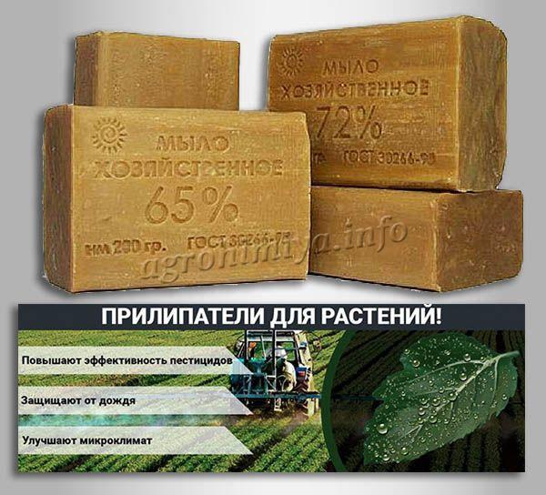 Самый простой и эффективный «домашний» прилипатель – это хозяйственное мыло