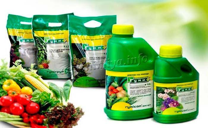 Фото удобрения Гуми для овощей