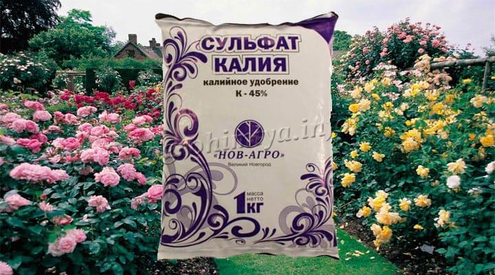 Удобрение Сульфат Калия для роз