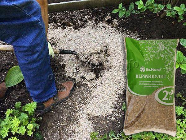 Применение Вермикулита в саду и в огороде