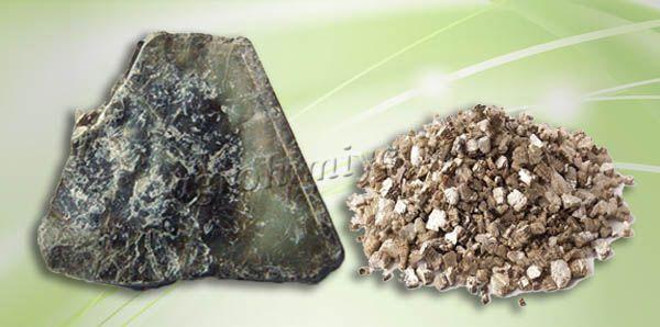 Вермикулит – это смолистый минерал, добываемый в природе, его причисляют к группе гидрослюд