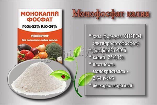 Состав и особенности Монофосфата калия