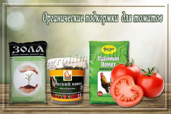 Органические подкормки для помидор