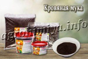 Удобрение и кормовая добавка Кровяная мука
