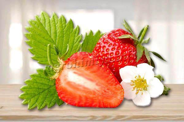 Ягоды блестящие, красные, мякоть розовая, плотная, пустот не образует