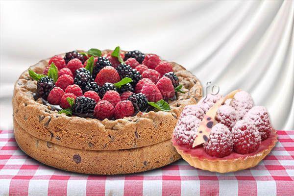 Малина Гусар хороша в выпечке и десертах