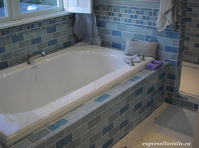ванная комната, класть плитку, плитка для ванной, правильная укладка плитки, керамическая плитка