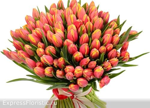 Букет тюльпанов для Девы